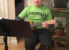 Lucas singing the Skye Boat Song