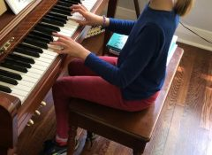 """Annabel playing her own composition """"Skipples"""""""